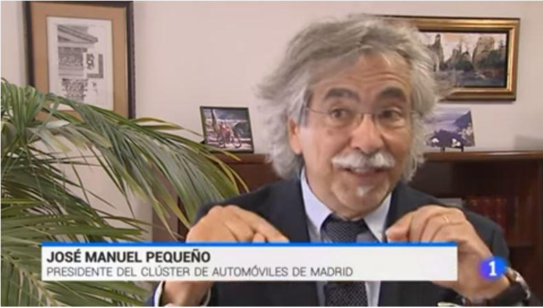 TVE1 entrevista a MCA y Nagamohr con motivo del Salón del Automóvil