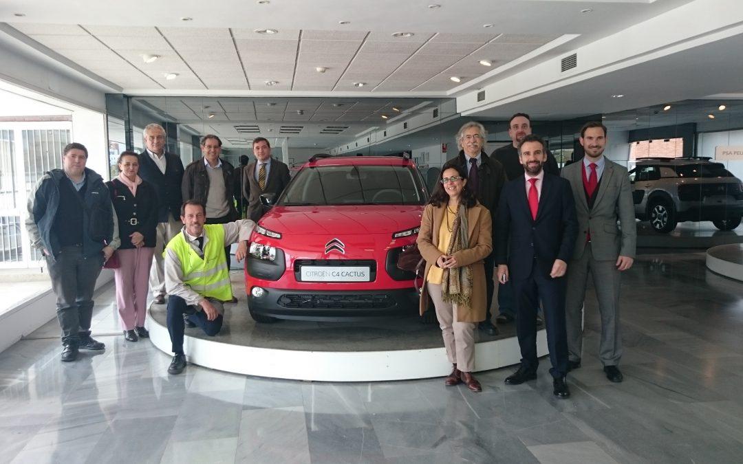 MCA visita las instalaciones madrileñas de PEUGEOT CITROËN AUTOMOVILES ESPAÑA (PSA)
