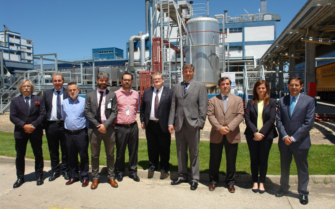 MCA visita la planta de BASF en Guadalajara
