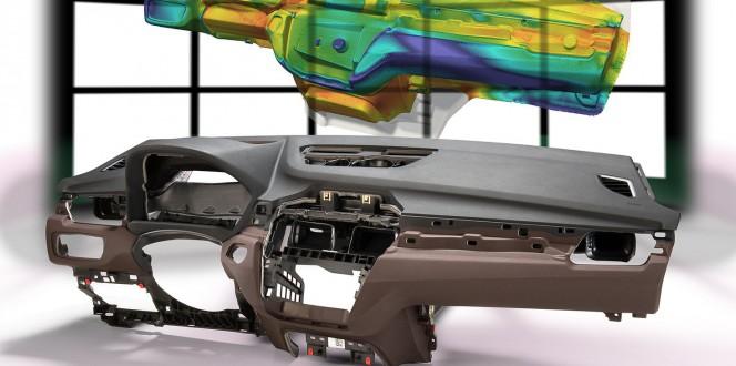 BASF ofrece la simulación del proceso de espumado en sistemas de PU para interiores de automóviles