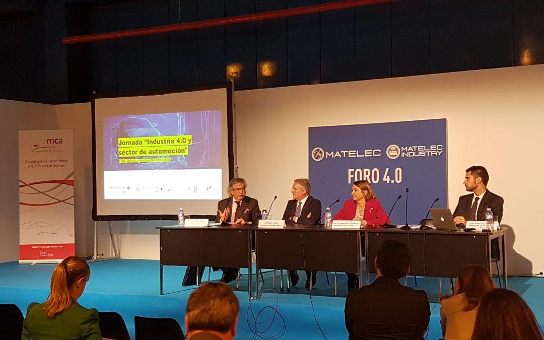 El reto de la Industria 4.0 en automoción, a debate en Matelec Industry