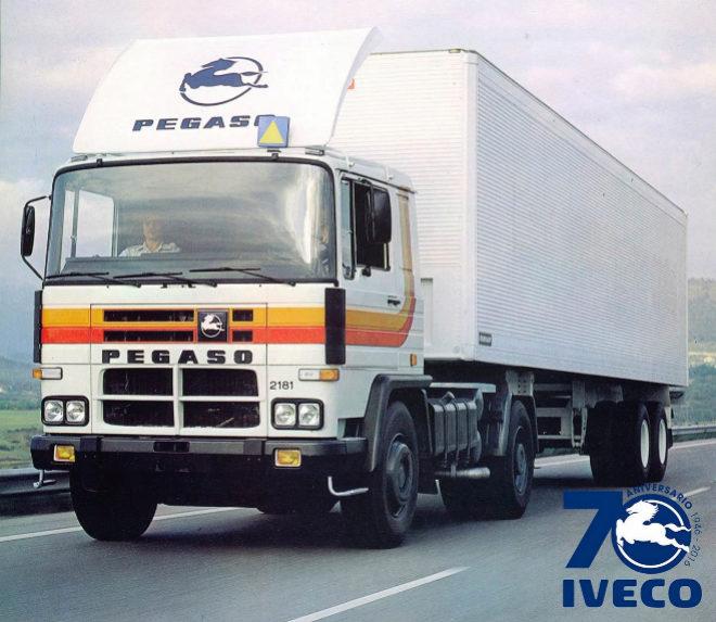 Iveco rinde homenaje a Pegaso por su 70 aniversario