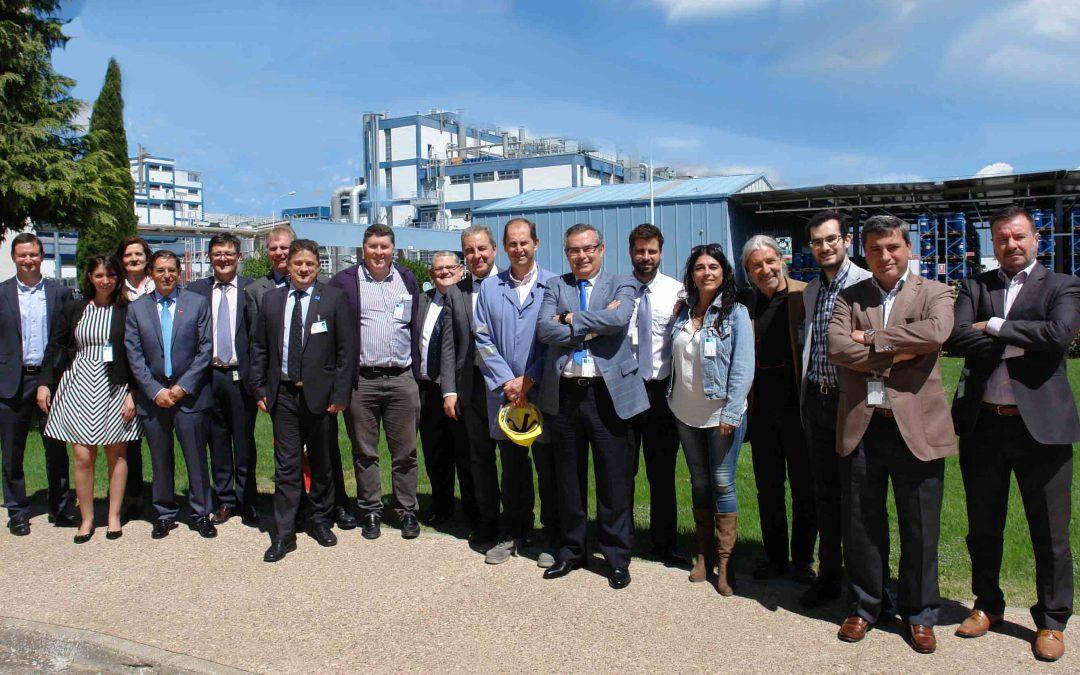 MCA visita las instalaciones de BASF