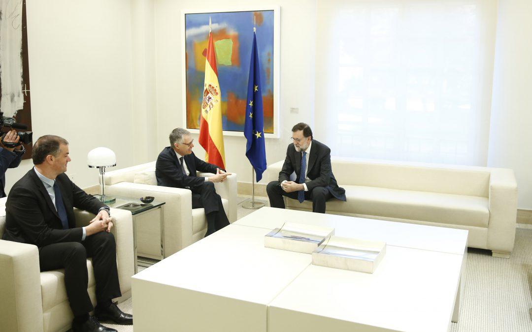 Reunión del Grupo PSA con el Presidente del Gobierno