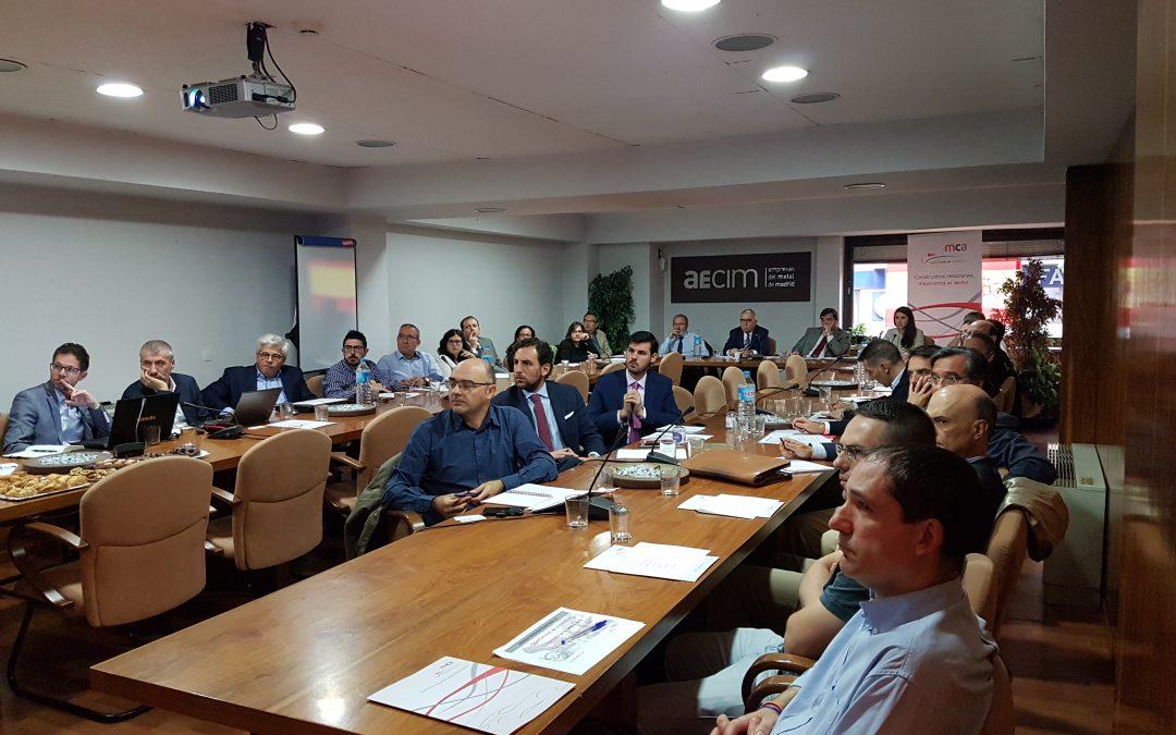 El Clúster de Automoción de Madrid analiza casos prácticos de Industria 4.0
