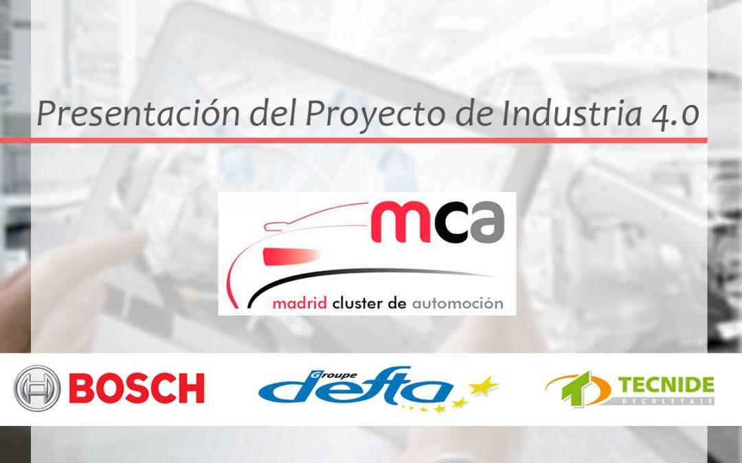 PRESENTACIÓN DEL PROYECTO DE INDUSTRIA 4.0 DE COLABORACIÓN ENTRE GRANDES EMPRESAS Y PYMES