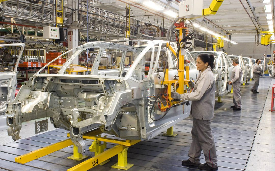 La producción de coches en España crece un 4,2% en el primer semestre