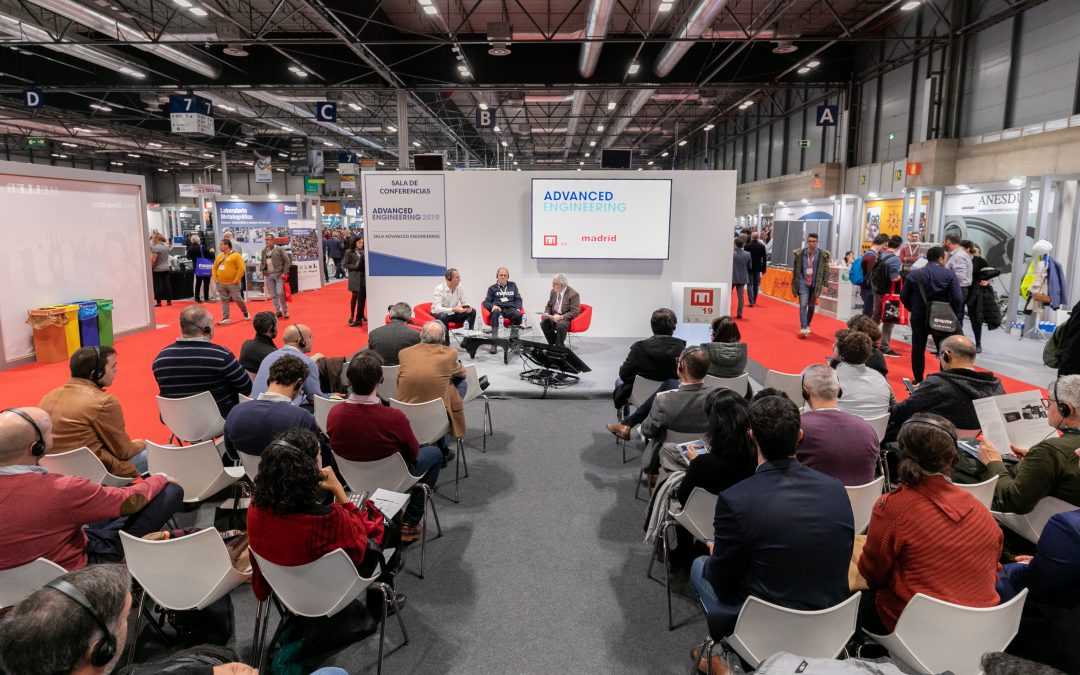 Ponencia en Liderazgo en la Transformación Industrial en la Feria MetalMadrid