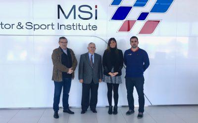 Visitan MCA y TECNIDE el MOTOR SPORT INSTITUTE MSi