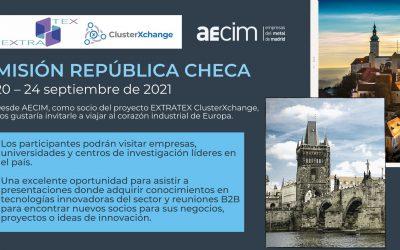 MISION REPÚBLICA CHECA | 20 – 24 septiembre 2021